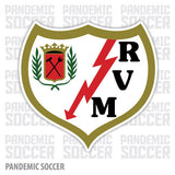 Rayo Vallecano Spain Vinyl Sticker Decal Soccer - Pandemic Soccer