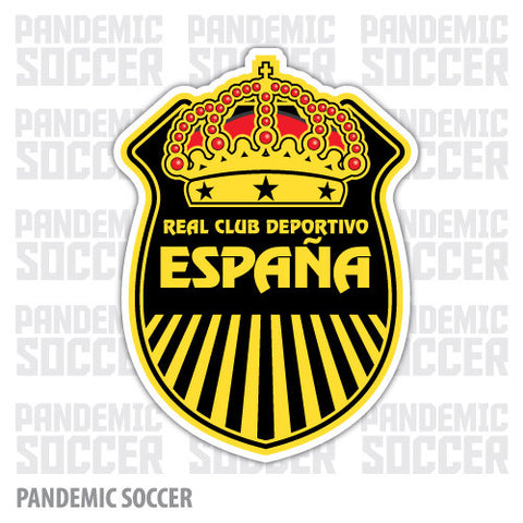 Real España Honduras Vinyl Sticker Decal Calcomania - Pandemic Soccer