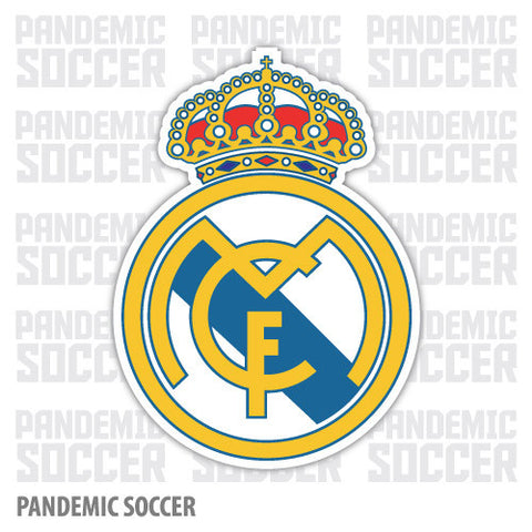 Real Madrid Spain La Liga Espana Vinyl Sticker Decal - Pandemic Soccer