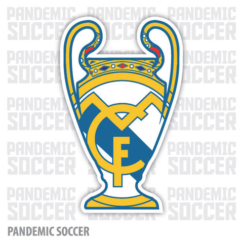 Real Madrid Spain La Liga España Vinyl Sticker Decal