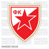 Red Star Belgrade Serbia Vinyl Sticker Decal