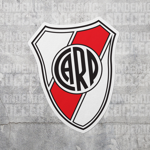 River Plate Argentina Vinyl Sticker Decal Calcomania - Pandemic Soccer