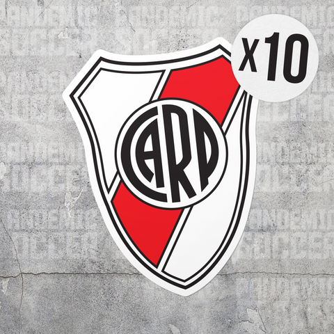 River Plate Argentina Vinyl Sticker Decal Packs - 10 Stickers - Pandemic Soccer