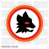 AS Roma Calcio Italy Vinyl Sticker Decal - Pandemic Soccer