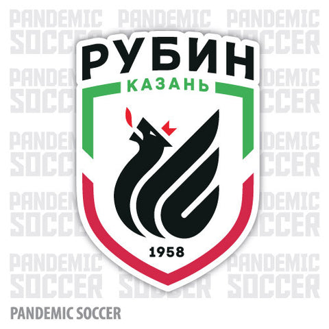 Rubin Kazan Russia Vinyl Sticker Decal - Pandemic Soccer
