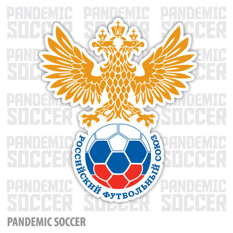Russia National Football Soccer Vinyl Sticker Decal