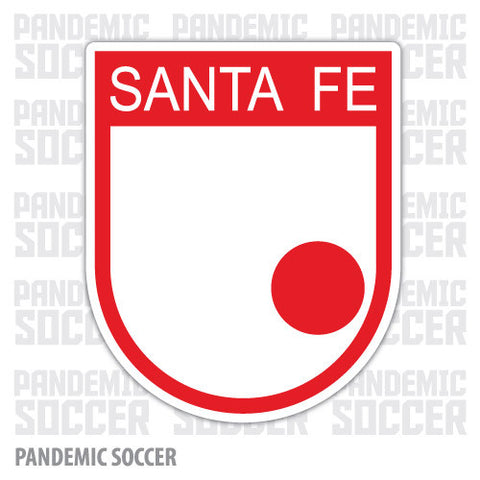 Independiente Santa Fe Colombia Vinyl Sticker Decal Calcomania - Pandemic Soccer