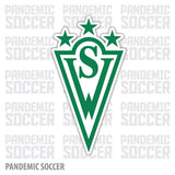 Santiago Wanderers Chile Vinyl Sticker Decal Calcomania - Pandemic Soccer