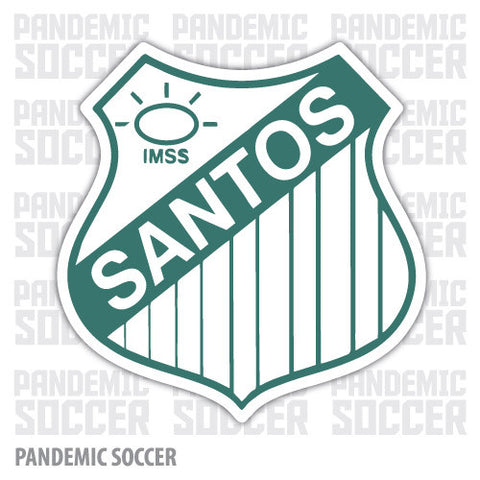 Santos Laguna Retro Mexico Vinyl Sticker Decal Calcomania - Pandemic Soccer