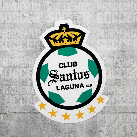Santos Laguna Torreon Mexico Vinyl Sticker Decal Calcomania - Pandemic Soccer