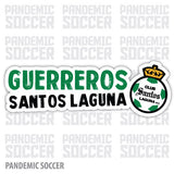 Santos Laguna Mexico Vinyl Sticker Decal Calcomania