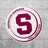 Deportivo Saprissa Costa Rica Vinyl Sticker Decal Calcomania - Pandemic Soccer