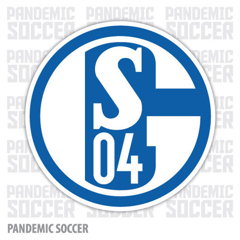 Schalke 04 Germany Vinyl Sticker Decal - Pandemic Soccer