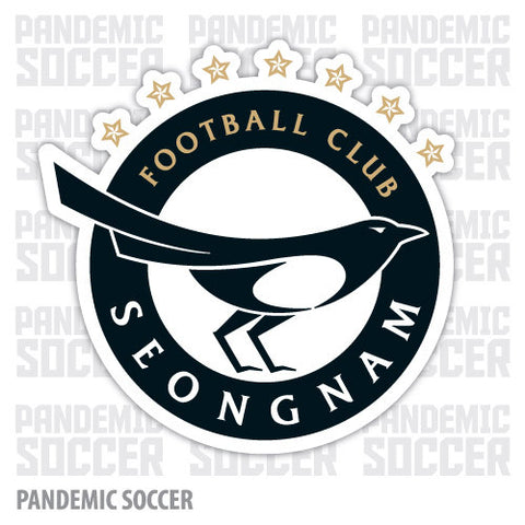 Seongnam FC South Korea Vinyl Sticker Decal - Pandemic Soccer