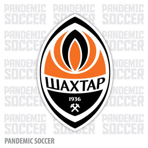 Shakhtar Donetsk Ukraine Vinyl Sticker Decal - Pandemic Soccer