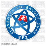 Slovakia National Soccer Team Vinyl Sticker Decal