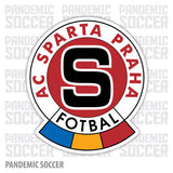 Sparta Praha Czech Republic Color Vinyl Sticker Decal