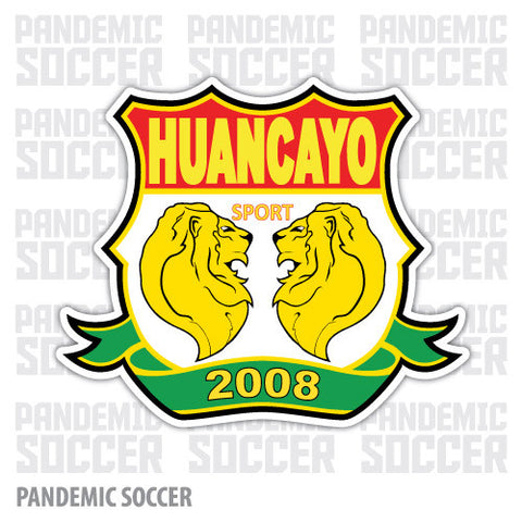 Sport Huancayo Peru Vinyl Sticker Decal Calcomania - Pandemic Soccer