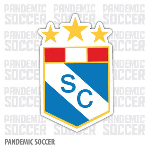 Sporting Cristal Lima Peru Vinyl Sticker Decal Calcomania - Pandemic Soccer