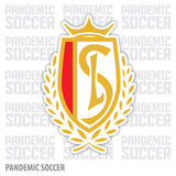 Standard Liege Belgium Vinyl Sticker Decal