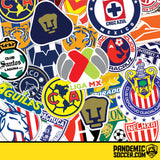 Rayados Monterrey Retro Futbol Vinyl Sticker Decal Calcomania - Pandemic Soccer