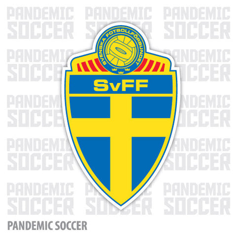 Sweden National Soccer Team Vinyl Sticker Decal