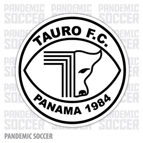 Tauro FC Panama Vinyl Sticker Decal Calcomania - Pandemic Soccer