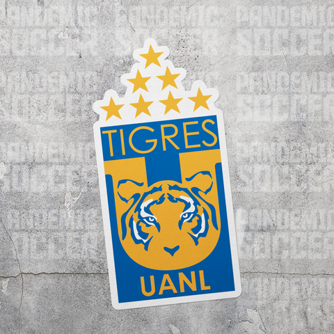 Tigres UANL Futbol Mexico Vinyl Sticker Decal Calcomania - Pandemic Soccer