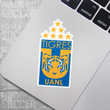 Tigres UANL Mexico Vinyl Sticker Decal Pack - 10 Stickers - Pandemic Soccer