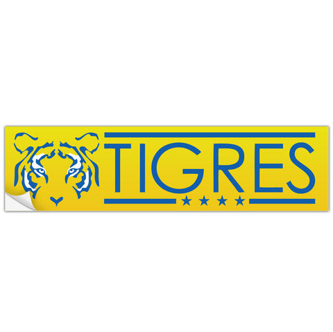 Tigres Uanl Mexico Bumper Sticker Decal Calcomonia