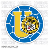 Tigres UANL Retro Mexico Vinyl Sticker Decal Calcomania