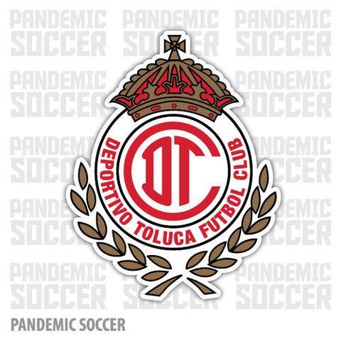 Toluca FC Diablos Mexico Vinyl Sticker Decal Calcomania - Pandemic Soccer