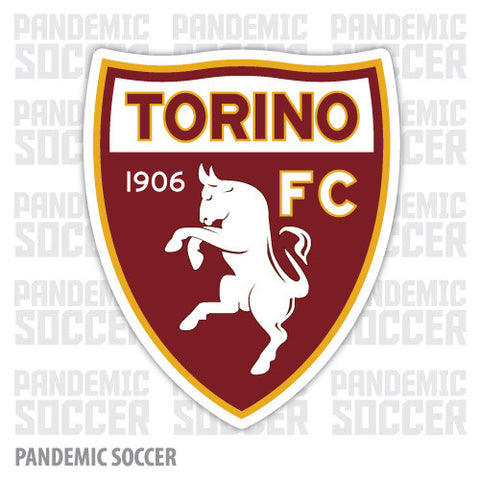 Torino FC Turin Italy Color Vinyl Sticker Decal - Pandemic Soccer