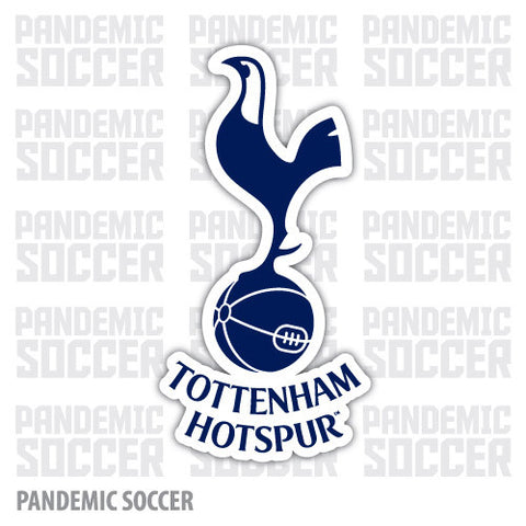 Tottenham Hotspur England Spurs Vinyl Sticker Decal