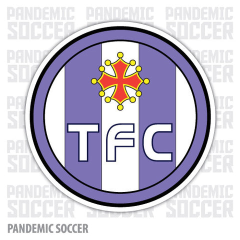 Toulouse FC France Color Vinyl Sticker Decal - Pandemic Soccer