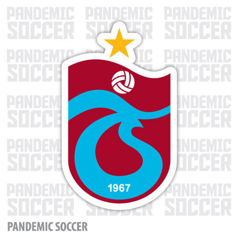 Trabzonspor Trabzon Turkey Vinyl Sticker Decal