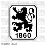 TSV 1860 Munich Germany Color Vinyl Sticker Decal - Pandemic Soccer