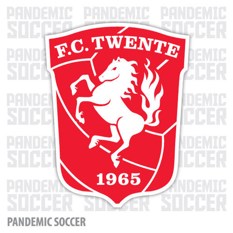 FC Twente Netherlands Color Vinyl Sticker Decal - Pandemic Soccer