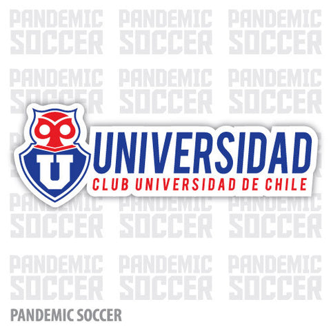 Universidad de Chile Vinyl Sticker Decal Calcomania