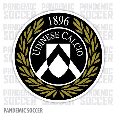 Udinese Calcio Italy Vinyl Sticker Decal - Pandemic Soccer