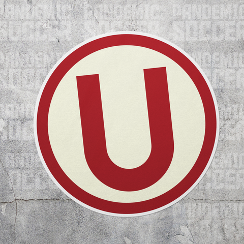 Universitario de Deportes Peru Vinyl Sticker Decal Calcomania - Pandemic Soccer