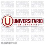 Universitario de Deportes Peru Vinyl Sticker Decal Calcomania