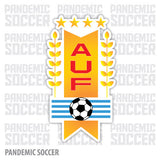 Seleccion Uruguay Futbol Vinyl Sticker Decal