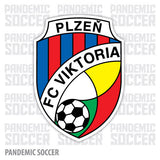 FC Viktoria Plzen Czech Republic Vinyl Sticker Decal - Pandemic Soccer
