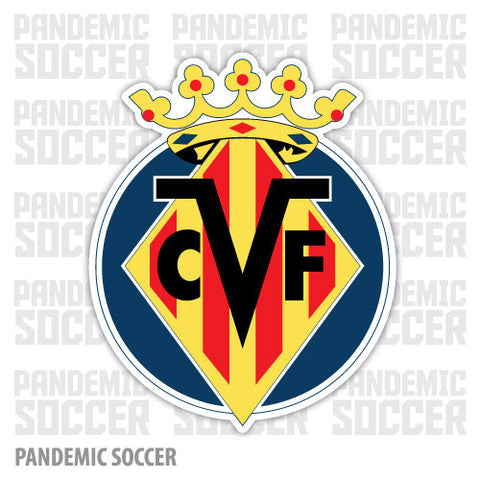 Villareal CF Spain Submarino Vinyl Sticker Decal - Pandemic Soccer