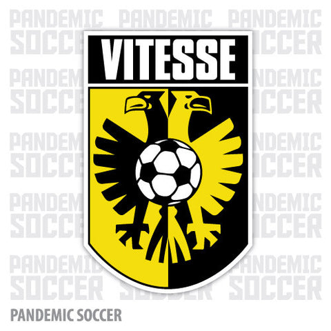 Vitesse Arnhem Netherlands Vinyl Sticker Decal - Pandemic Soccer