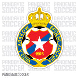 Wisla Krakow Poland Vinyl Sticker Decal - Pandemic Soccer