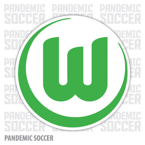 VfL Wolfsburg Germany Vinyl Sticker Decal - Pandemic Soccer