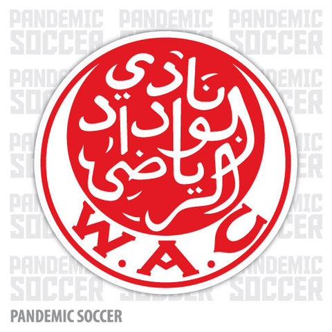 Wydad Athletic Club Morocco Vinyl Sticker Decal Soccer - Pandemic Soccer