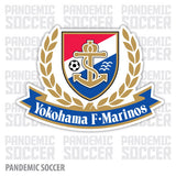 Yokohama F Marinos Japan Vinyl Sticker Decal - Pandemic Soccer